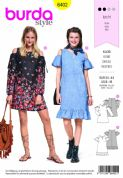6402 Burda Pattern: Womans Dress